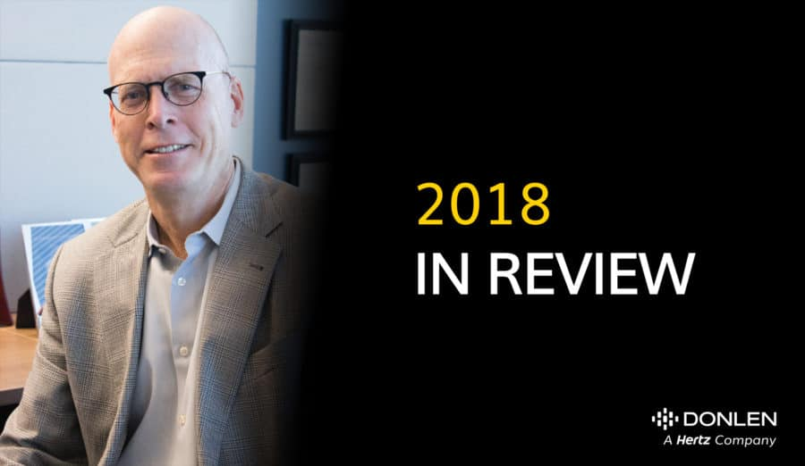 A Message From President Tom Callahan: 2018 in Review